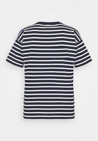 Carhartt WIP - ROBIE - Print T-shirt - dark navy/white - 7