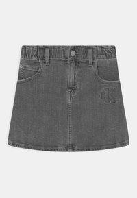 Calvin Klein Jeans - ELAS ALINE  - Minisukně - grey - 0
