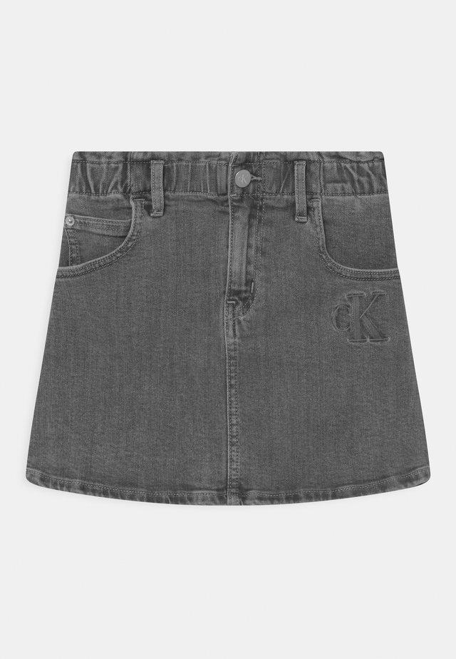 ELAS ALINE  - Mini skirt - grey