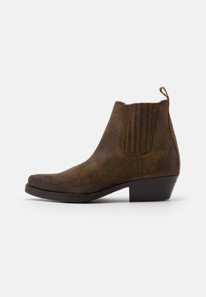 UNISEX - Cowboy/biker ankle boot - roc whisky