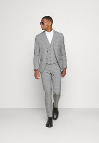 Isaac Dewhirst - THE FASHION SUIT PIECE CHECK - Completo - grey - 1