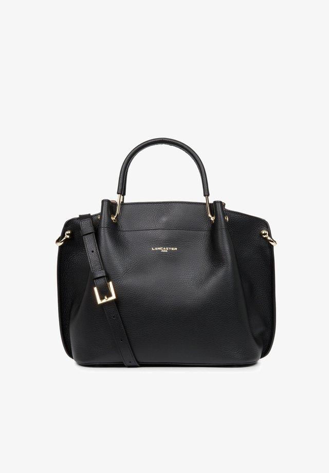 FOULONNÉ DOUBLE - Handbag - noir naturel