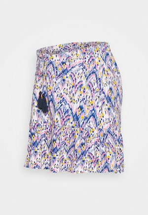 MLAGNES SHORT SKIRT - Minihame - snow white/fragant lilac
