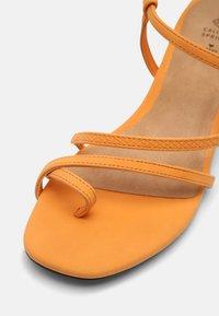 Call it Spring - CARMIN - T-bar sandals - orange - 7