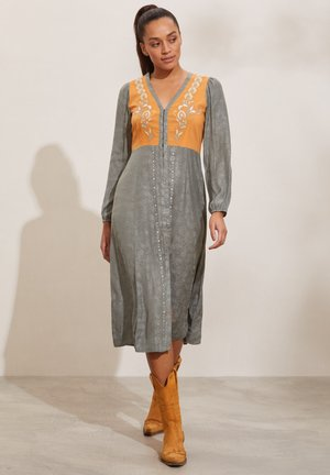 SIENNA - Day dress - faded cargo