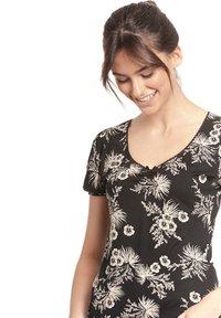 Vive Maria - Print T-shirt - schwarz allover - 3
