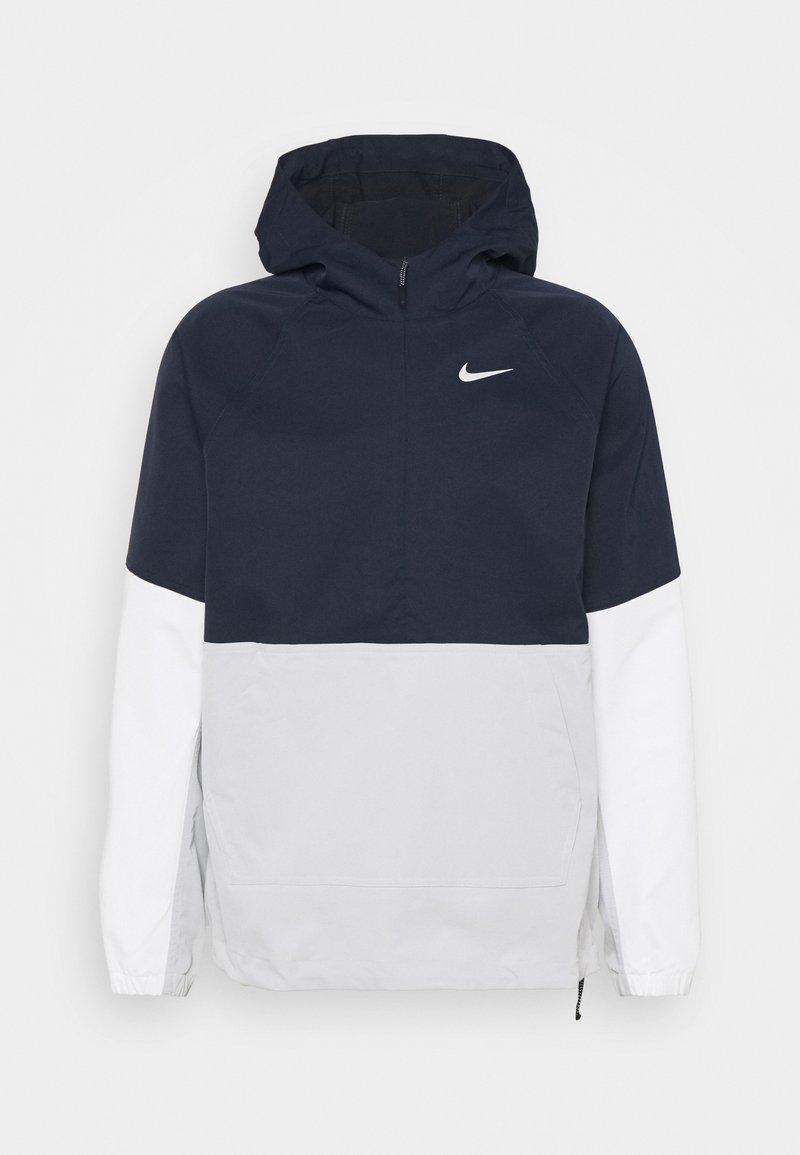 Nike Golf - REPEL ANORAK  - Vodotěsná bunda - obsidian/grey fog/summit white/grey fog