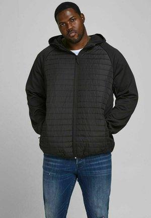 PLUS SIZE GESTEPPTE - Winter jacket - black