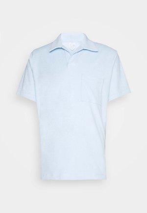 Basic Towelling Polo Shirt - Pikeepaita - blue