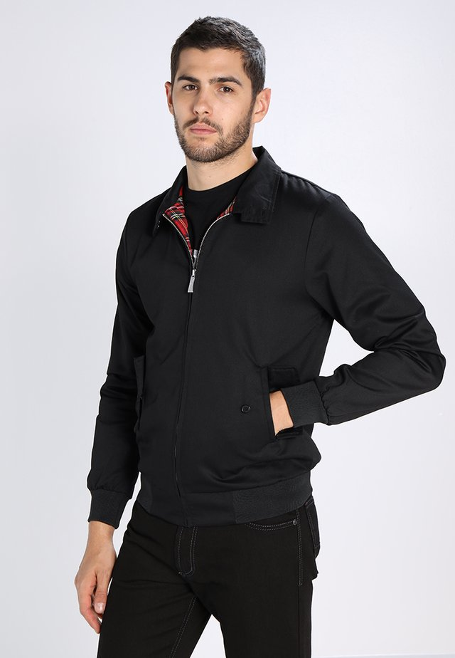 HARRINGTON - Giubbotto Bomber - noir