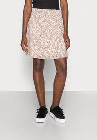 Moss Copenhagen - FIANNA SKIRT - A-line skirt - sand - 0