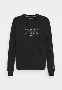 Tommy Jeans - ESSENTIAL LOGO - Sweater - black - 4