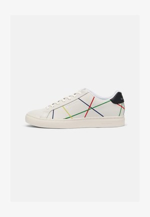 REX - Sneakers laag - white/multi abstract