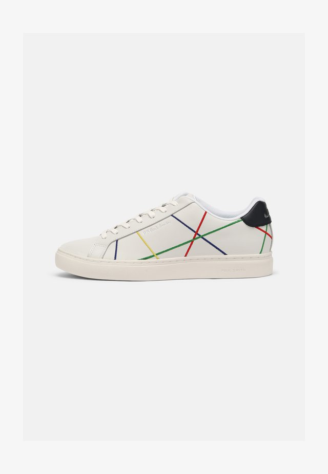 REX - Sneaker low - white/multi abstract
