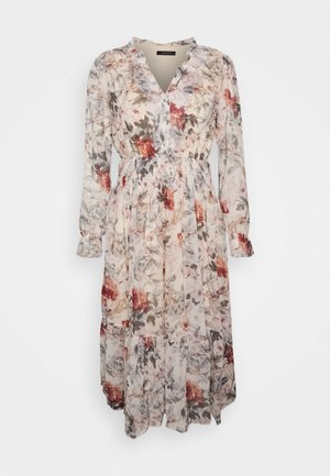 Day dress - ecru/multi