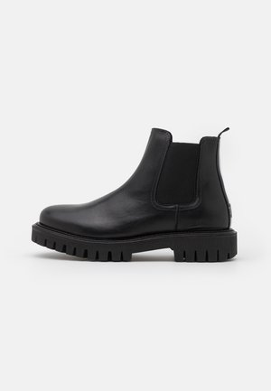 CASUAL CHUNKY DRESS CHELSEA - Classic ankle boots - black