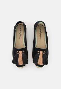 Casa de Vera - Wedge sandals - black/beige - 5