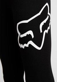Fox Racing - ENDURATION LEGGING - Legginsy - black/white - 4