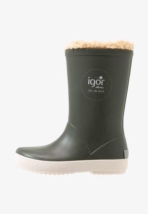SPLASH NAUTICO BORREGUITO - Wellies - khaki