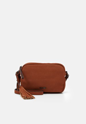 ROMY LEE - Across body bag - cognac