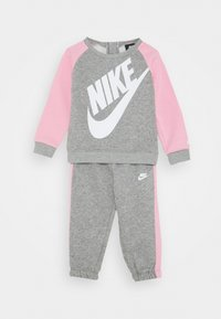Nike Sportswear - FUTURA CREW SET - Mikina - dark grey heather - 0
