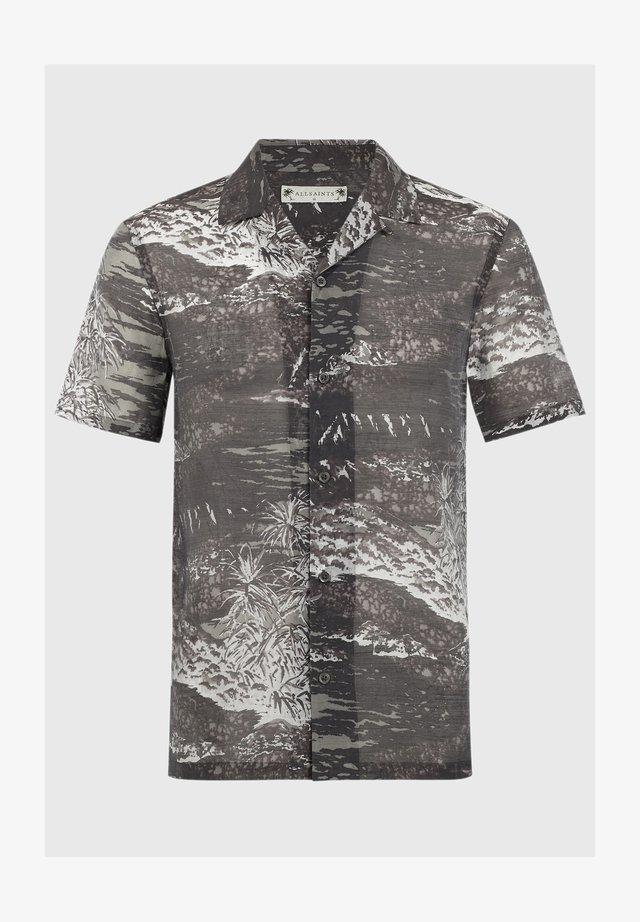CASTAWAY SS - Shirt - black