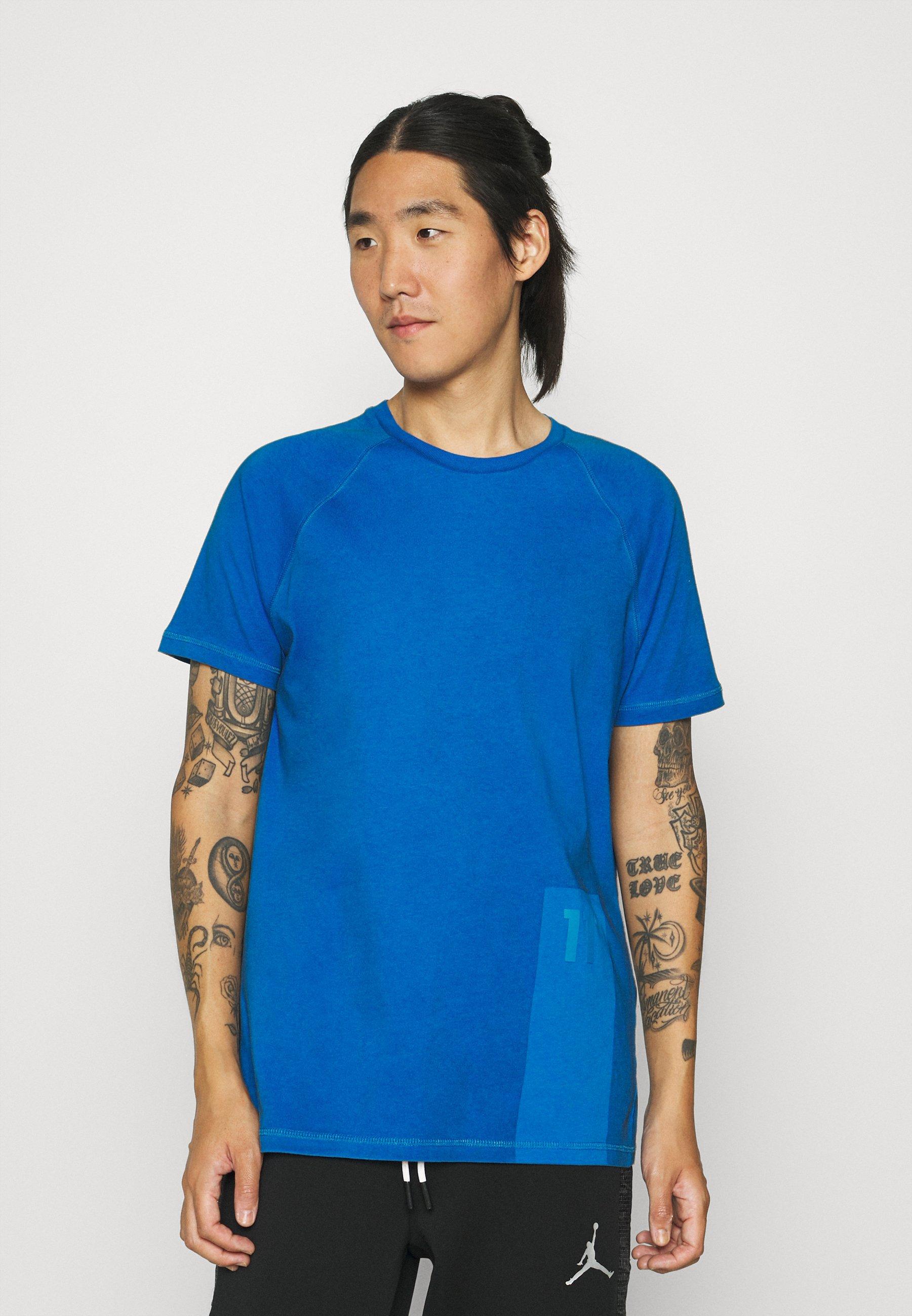 Men OVER DYED - Print T-shirt