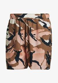 adidas Performance - SHORT-LENGTH GRAPHIC SWIM SHORTS - Swimming shorts - brown - 5