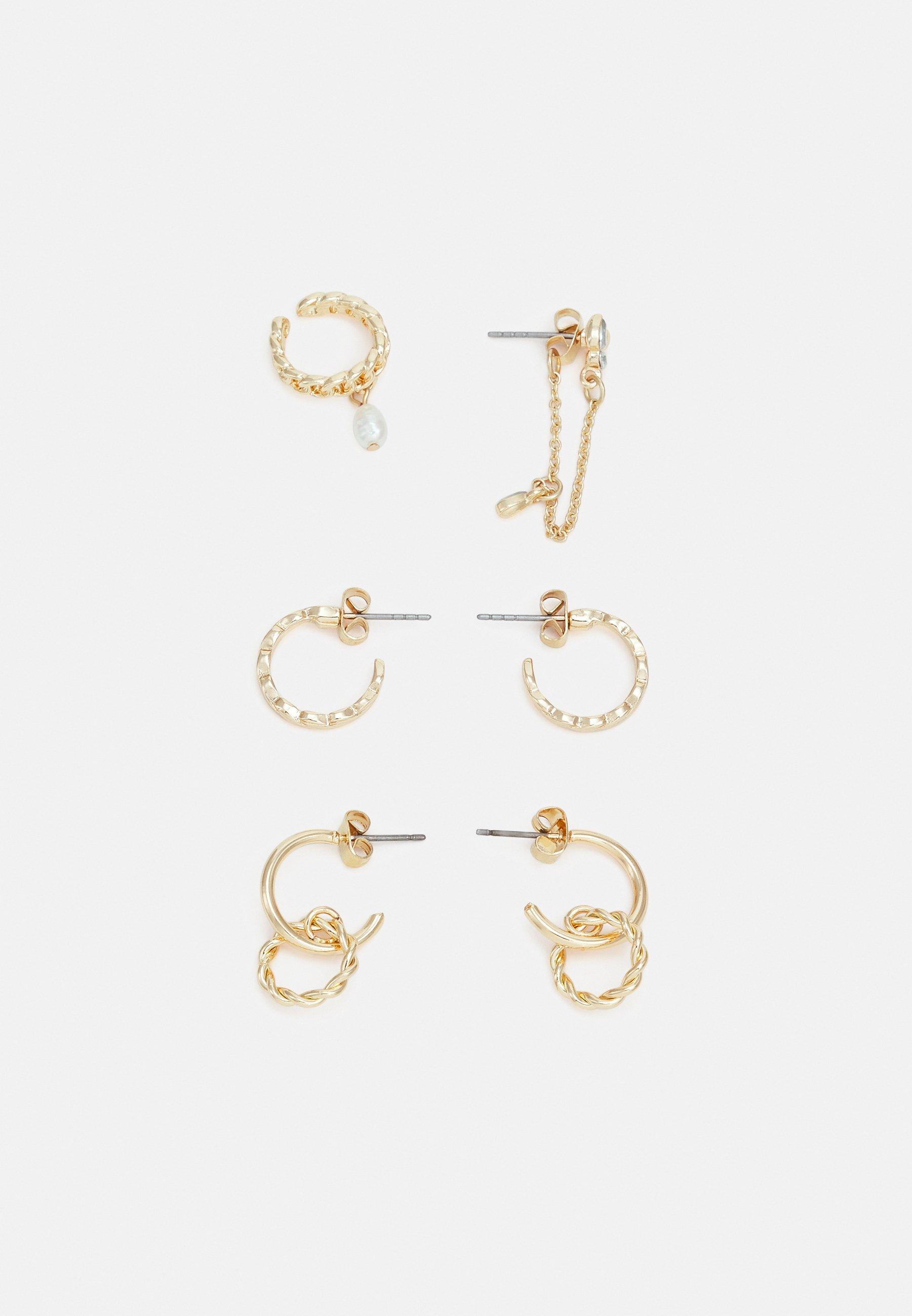 Women PCCATCHY EARRINGS 3 PACK - Earrings