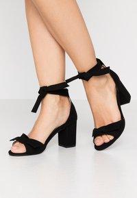 NAE Vegan Shoes - ESTELA - Sandals - black - 0