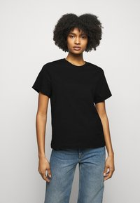House of Dagmar - CLAUDIA - T-shirt basic - black - 0