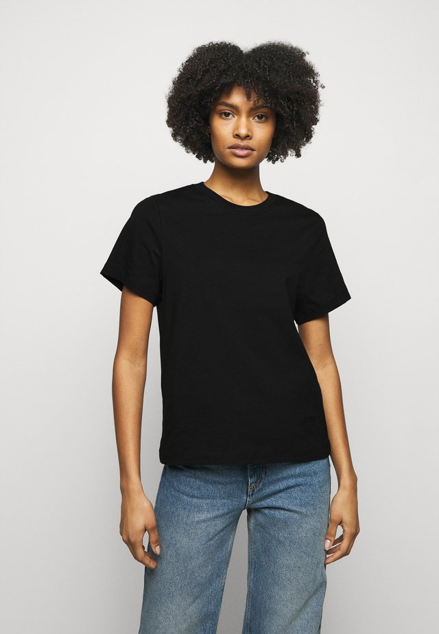 CLAUDIA - T-shirt basic - black