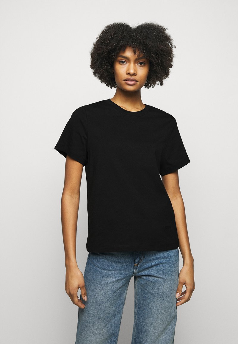 House of Dagmar - CLAUDIA - T-shirt basic - black