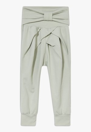 COZY ME BOW PANTS BABY ZGREEN - Kalhoty - misty green