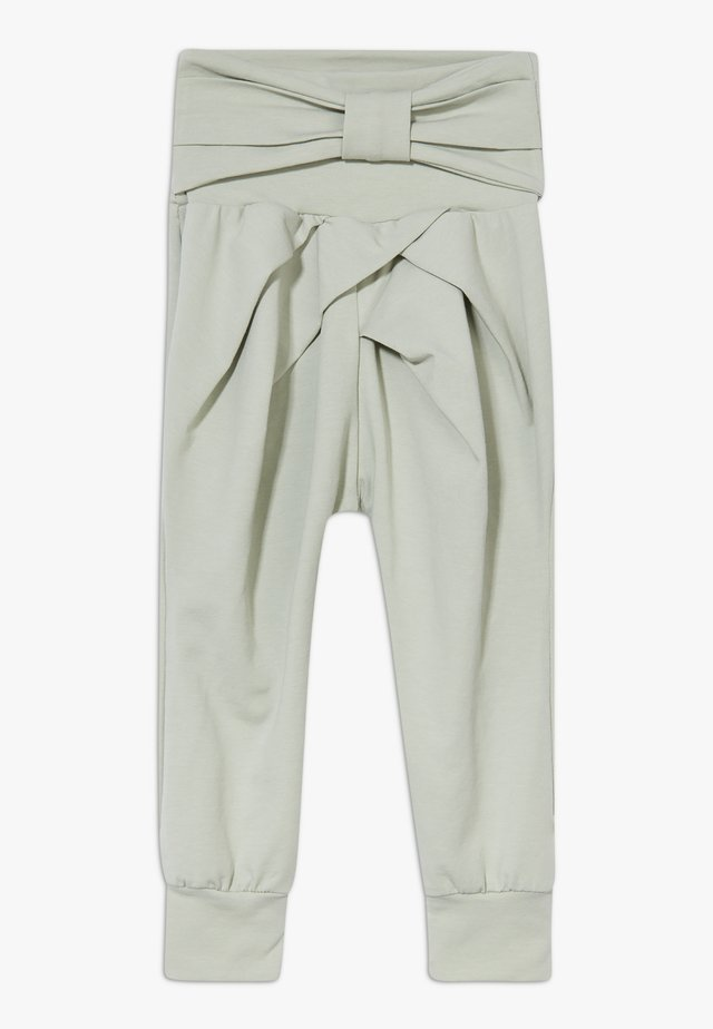 COZY ME BOW PANTS BABY ZGREEN - Pantalon classique - misty green