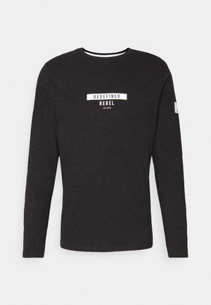 GUTI TEE - Long sleeved top - black