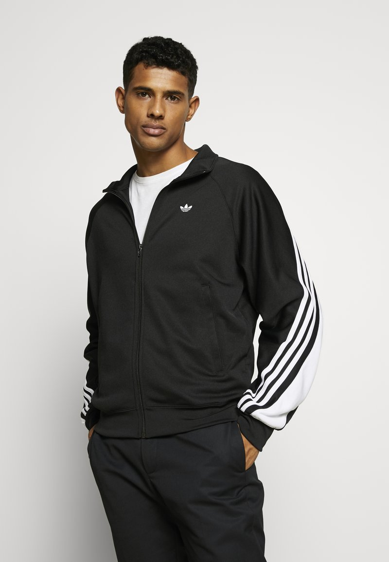 adidas Originals - SPORT INSPIRED TRACK TOP - Verryttelytakki - black/white