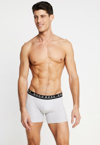 BOSS - BOXER BRIEF 3 PACK - Pants - blue/mottled light grey/black - 0