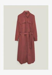 Massimo Dutti - Shirt dress - bordeaux - 0