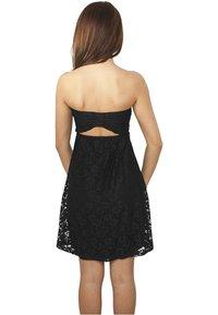 Urban Classics - DRESS - Cocktail dress / Party dress - black - 1