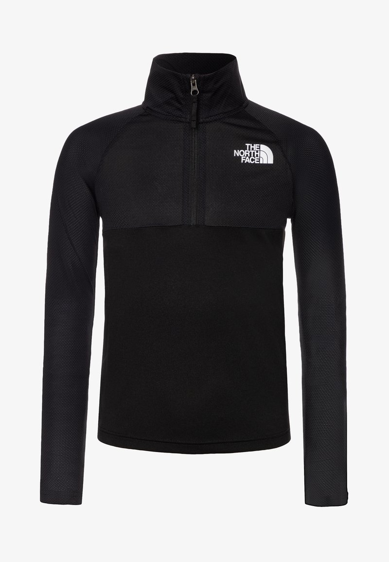 The North Face - BOY'S REACTOR 1/4 ZIP - Sportshirt - black