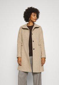 comma - Classic coat - brown mel - 0