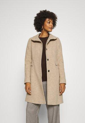 Classic coat - brown mel