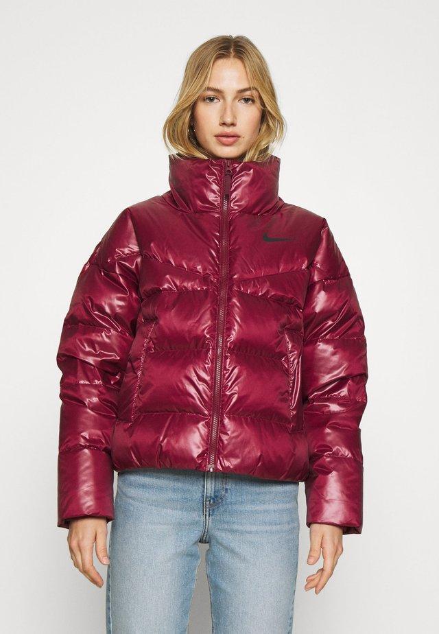 Down jacket - bordeaux