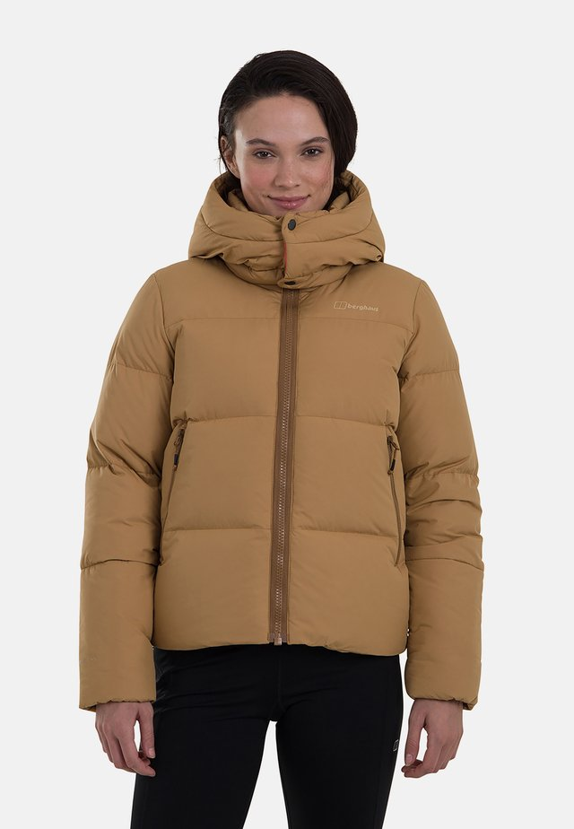 Down jacket - nude