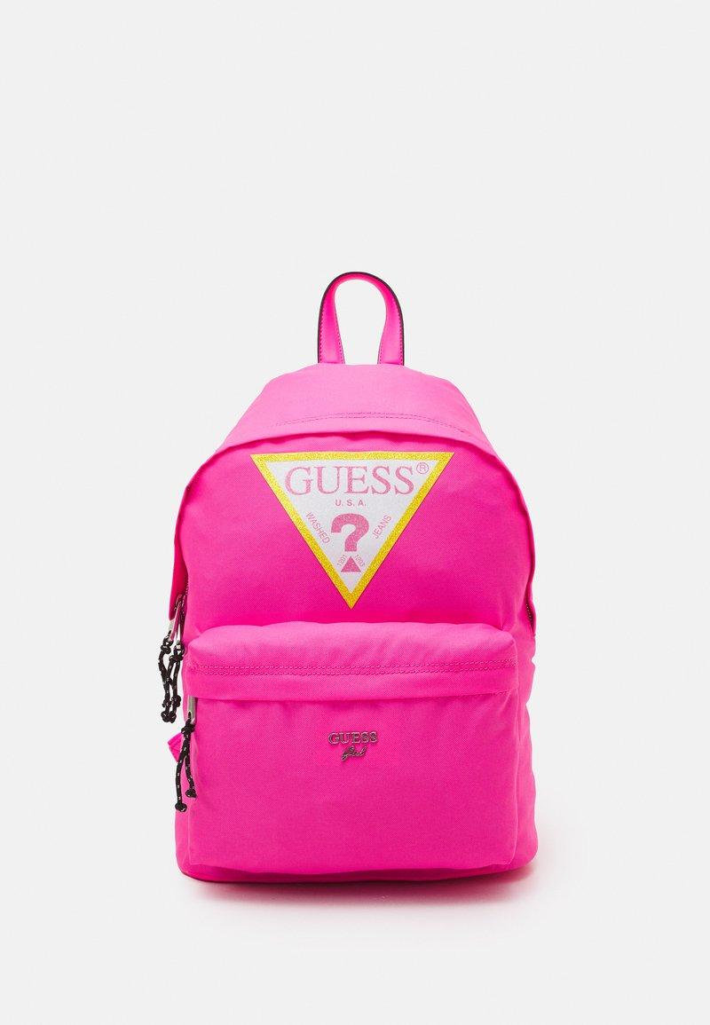 Guess - JAYMI UNISEX - Rucksack - pink