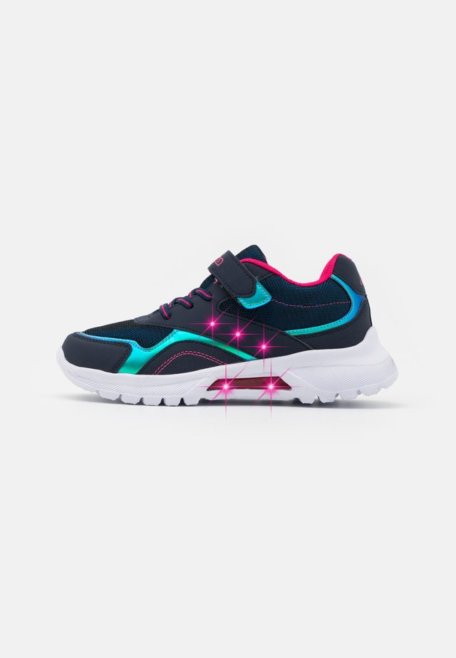 UNISEX - Trainings-/Fitnessschuh - navy/pink