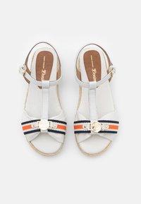 TOM TAILOR DENIM - Platform sandals - offwhite - 5