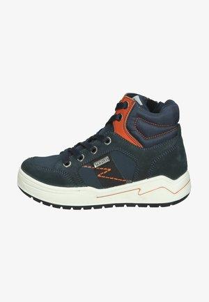 Sneakers hoog - dunkelblau