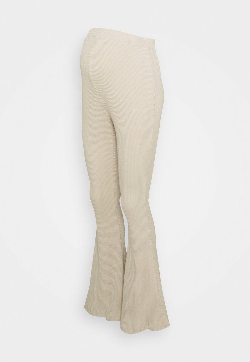 Glamorous Bloom - LADIES FLARES - Spodnie materiałowe - ecru
